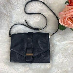 KATe SPADE Black Pebbled Crossbody Bag